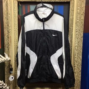Vintage 90s Nike Windbreaker Jacket x white tag